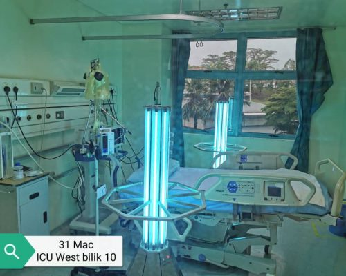 ASEPT.2X MOBILE UV DISINFECTION SYSTEM